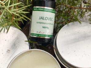aromaterapie - jalovcový krém