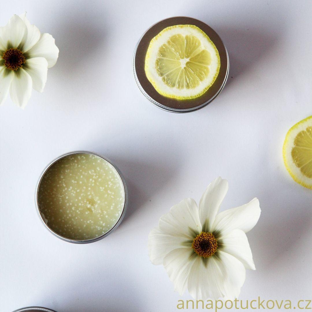 domácí výroba deodorantu kosmetická kuchařka